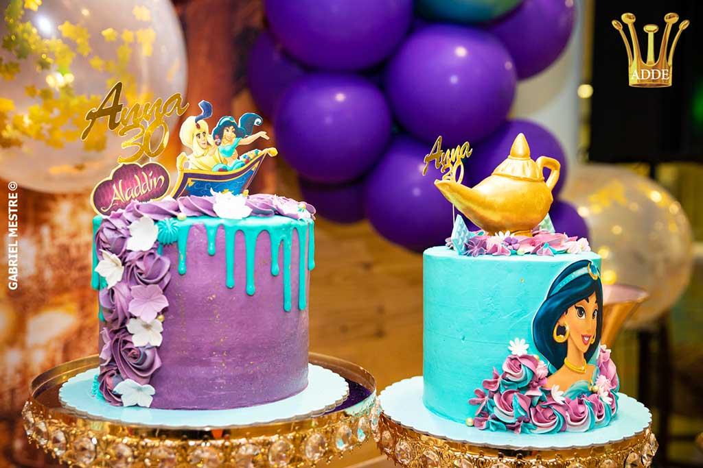 Pasteles temáticos Aladdin
