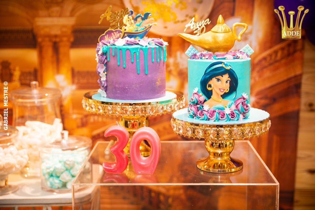 Fiesta temática Aladdin